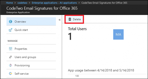 ESIG for O365 remove from Azure AD 5-2