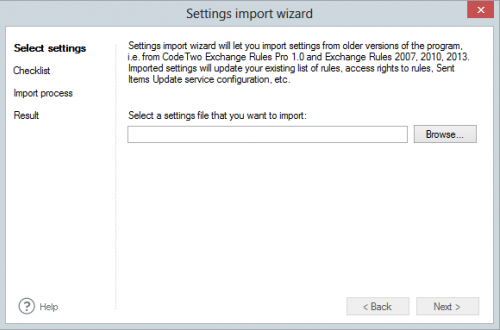 ER Pro 2.x - Settings import wizard
