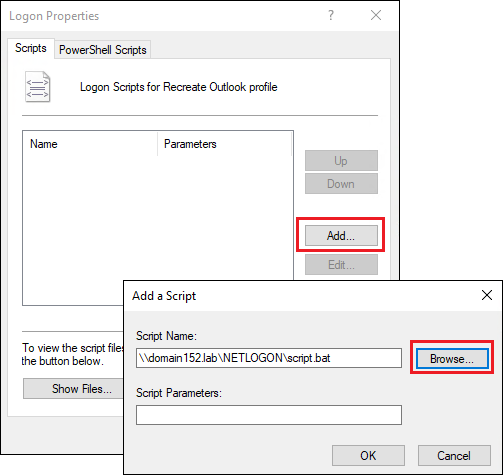 How to recreate Outlook profiles after the migration