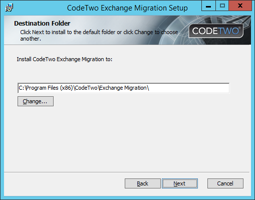 Exchange Migration - Installer 2