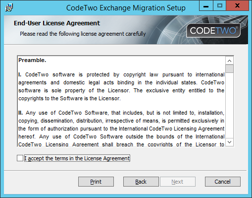 Exchange Migration - Installer 4