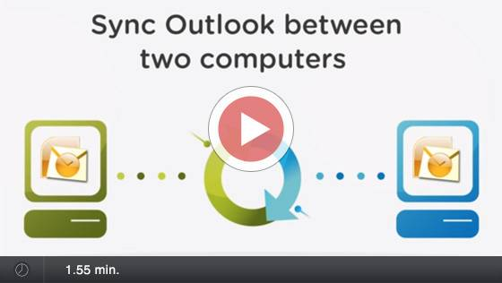 Sync Outlook folder with CodeTwo Outlook Sync - Video