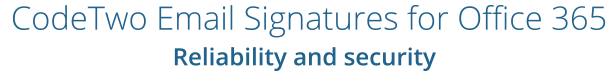 Email Signatures Office 365 Security