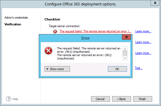 Office 365 policy