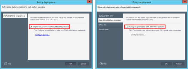 Email Signatures - Deploy OWA 2010/2013/2016.