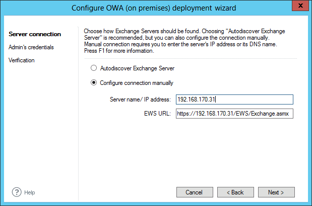 Email Signatures - OWA manual server location.