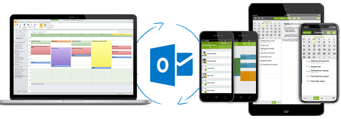 Sharing Outlook with iPhone, iPad and Android