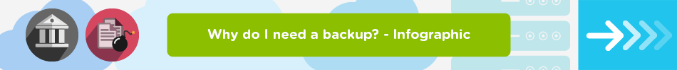 Why do I need a backup? - Infographic