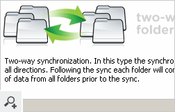 Replication of data in two directions within a group of folders i.e. Folder Ring.